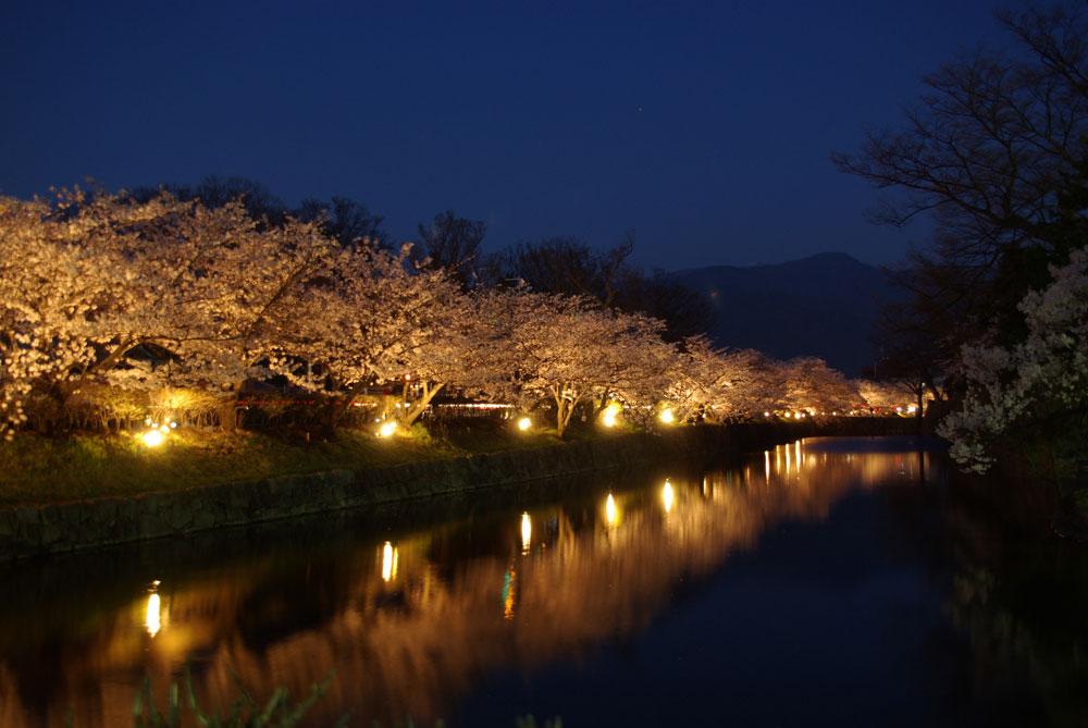 松本城 光の回廊